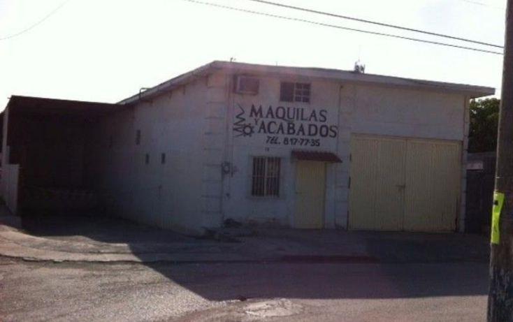 Foto de bodega en renta en siglo de torreon 14, periodistas, matamoros, tamaulipas, 1672342 no 01