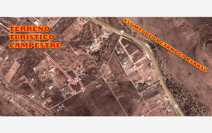 Foto de terreno habitacional en venta en sin nombre, san vicente de chupaderos, durango, durango, 602234 no 15