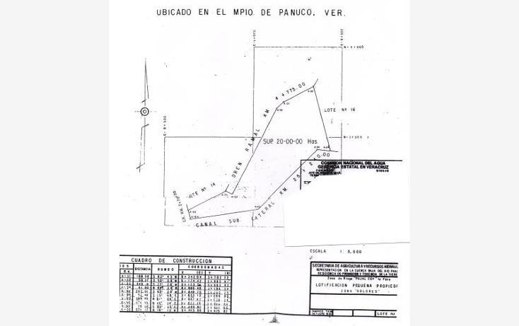 Foto de terreno habitacional en venta en  sin numero, guayalejo, pánuco, veracruz de ignacio de la llave, 998291 No. 07