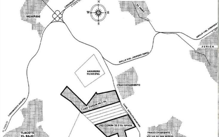 Foto de terreno habitacional en venta en  sin numero, mompani, querétaro, querétaro, 1785632 No. 02