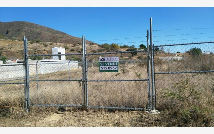 Foto de terreno habitacional en venta en  sin numero, san felipe del agua 1, oaxaca de juárez, oaxaca, 1594348 No. 01