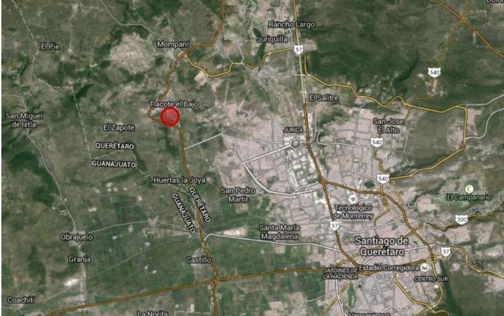 Foto de terreno habitacional en venta en  sin numero, tlacote el bajo, querétaro, querétaro, 1785634 No. 01