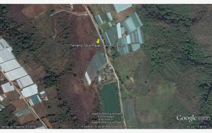 Foto de terreno habitacional en venta en  sin número, totolmajac, villa guerrero, méxico, 2031162 No. 01