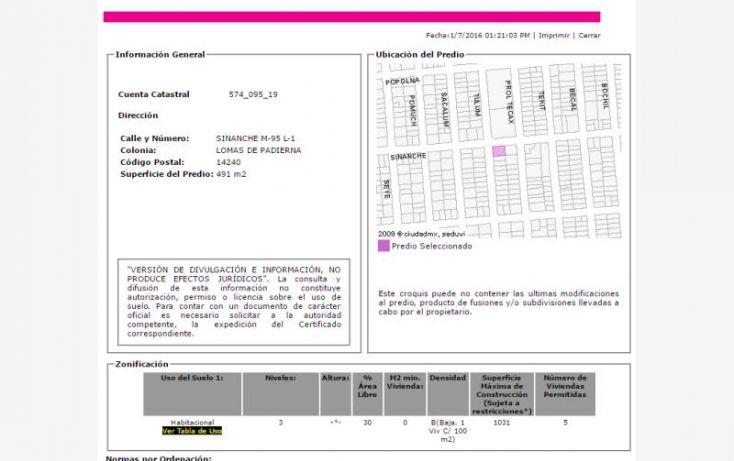 Foto de casa en venta en sinanche 267, lomas de padierna, tlalpan, df, 2039700 no 03