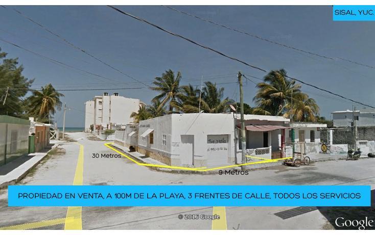 Foto de casa en venta en  , sisal, hunucmá, yucatán, 1626587 No. 01