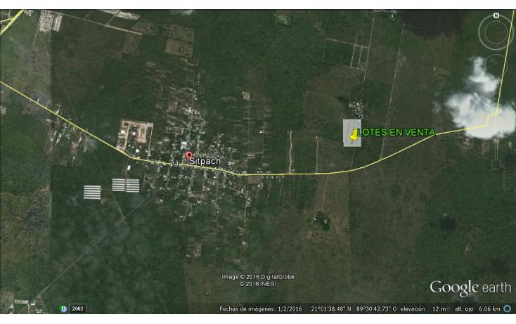Foto de terreno habitacional en venta en  , sitpach, mérida, yucatán, 1162047 No. 02
