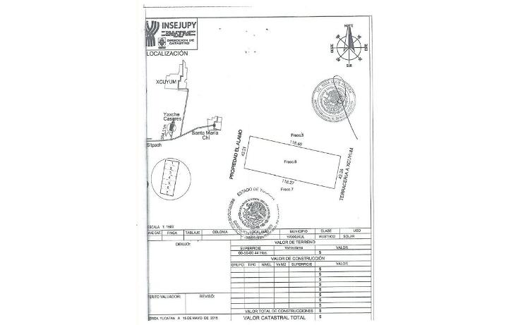 Foto de terreno habitacional en venta en  , sitpach, mérida, yucatán, 1162047 No. 03