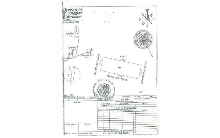 Foto de terreno habitacional en venta en  , sitpach, mérida, yucatán, 1162047 No. 04