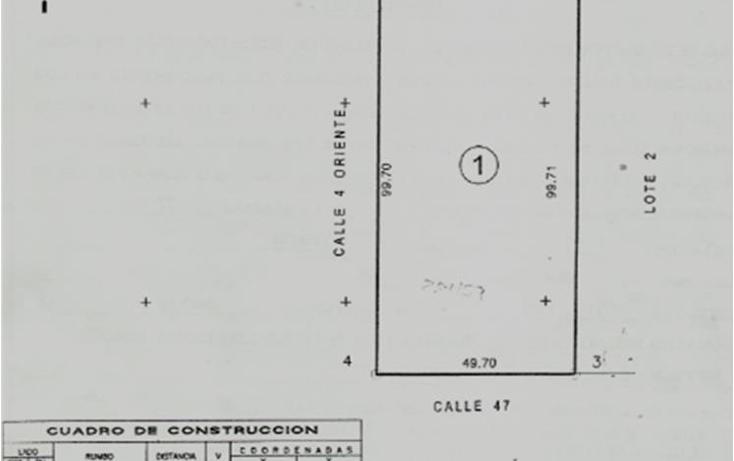 Foto de terreno habitacional en venta en  , sitpach, mérida, yucatán, 1557580 No. 01