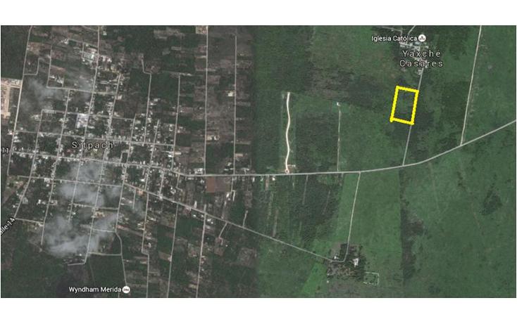 Foto de terreno habitacional en venta en  , sitpach, m?rida, yucat?n, 1579642 No. 01