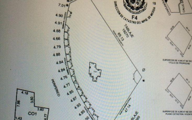Foto de terreno comercial en renta en  , sitpach, mérida, yucatán, 1692070 No. 04