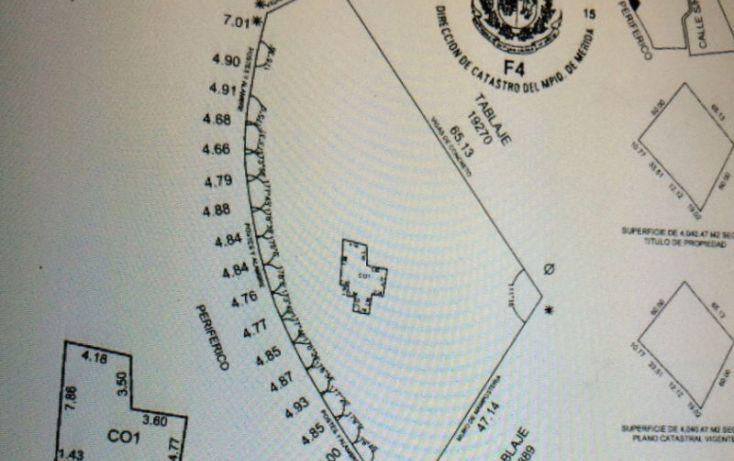 Foto de terreno comercial en renta en, sitpach, mérida, yucatán, 1692070 no 05