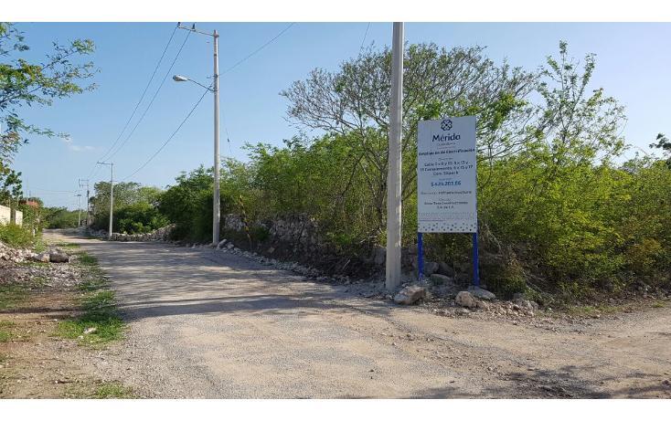 Foto de terreno habitacional en venta en  , sitpach, mérida, yucatán, 1975710 No. 02