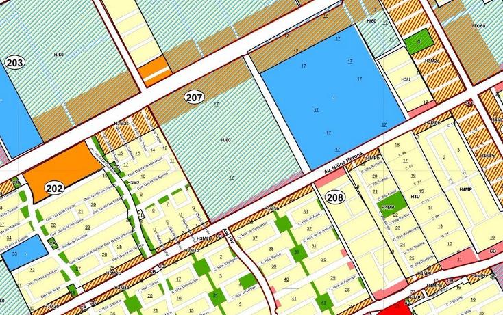 Foto de terreno comercial en venta en  , sm 207 villas del sol ii, benito juárez, quintana roo, 1132095 No. 01