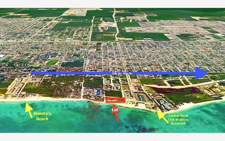 Foto de terreno habitacional en venta en  smls094, playa del carmen centro, solidaridad, quintana roo, 371563 No. 01