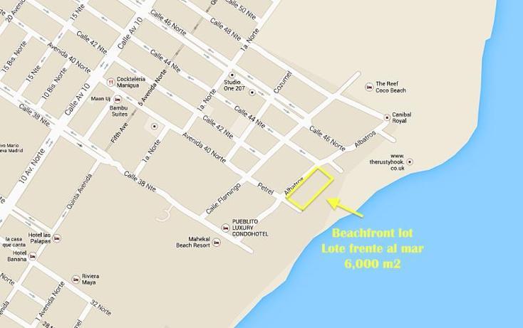 Foto de terreno habitacional en venta en  smls094, playa del carmen centro, solidaridad, quintana roo, 371563 No. 05