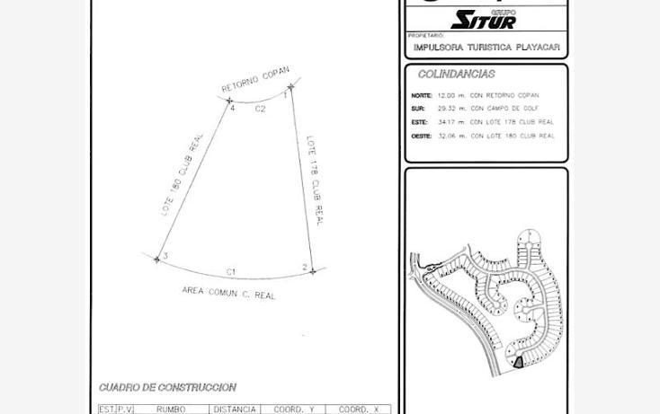 Foto de terreno habitacional en venta en  smls118, playa car fase ii, solidaridad, quintana roo, 526722 No. 01