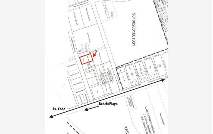Foto de terreno habitacional en venta en smls124, villas tulum, tulum, quintana roo, 521281 no 01