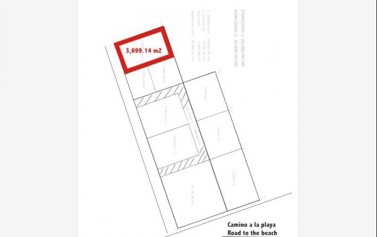 Foto de terreno habitacional en venta en smls124, villas tulum, tulum, quintana roo, 521281 no 03
