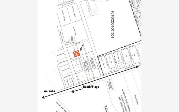 Foto de terreno habitacional en venta en  smls125, tulum centro, tulum, quintana roo, 521151 No. 02