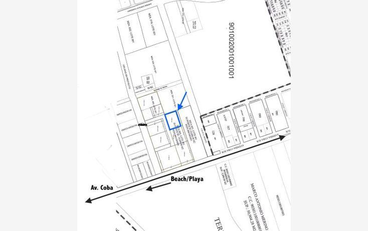 Foto de terreno habitacional en venta en a pasos de avenida coba smls127, tulum centro, tulum, quintana roo, 523952 No. 03