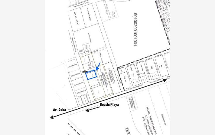 Foto de terreno habitacional en venta en  smls128, tulum centro, tulum, quintana roo, 521171 No. 02