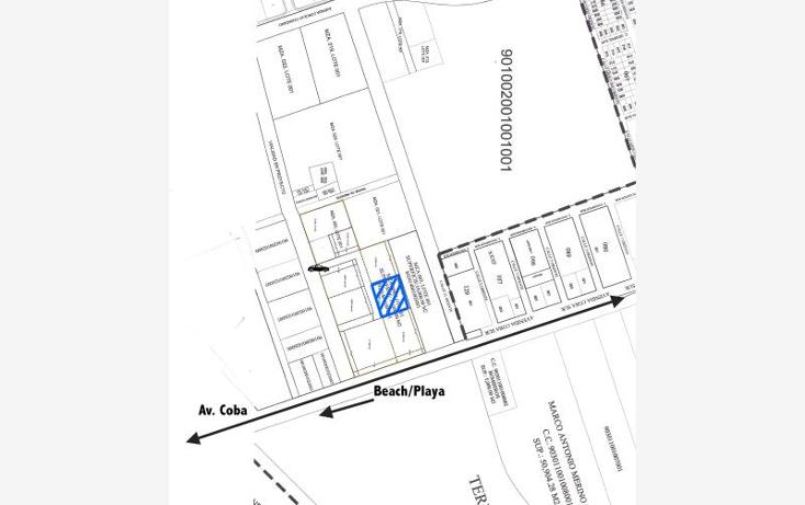 Foto de terreno habitacional en venta en a pasos de avenida coba smls129, tulum centro, tulum, quintana roo, 521113 No. 03