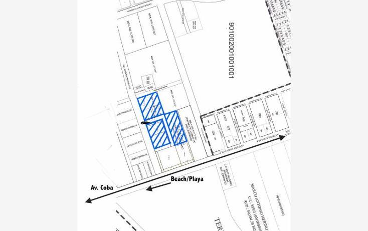 Foto de terreno habitacional en venta en  smls132, tulum centro, tulum, quintana roo, 522971 No. 02