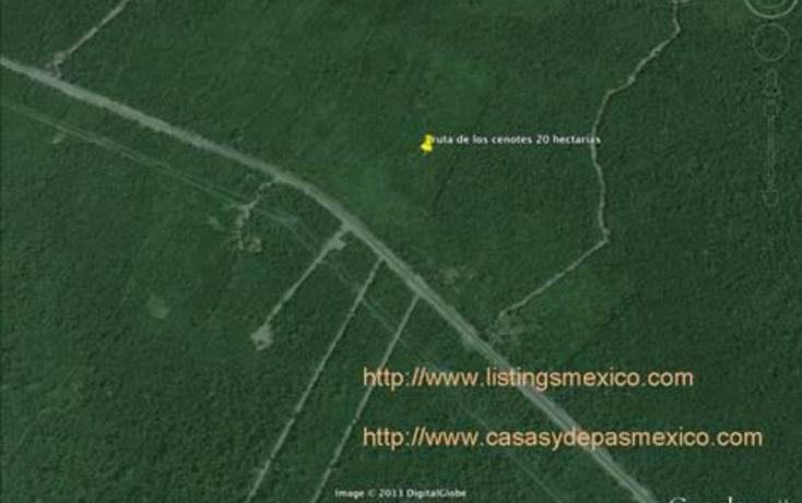 Foto de terreno comercial en venta en sn 1, puerto morelos, benito juárez, quintana roo, 378118 no 02