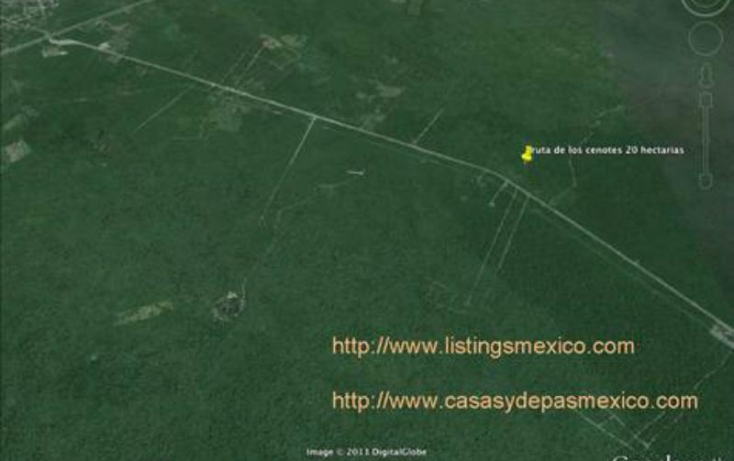 Foto de terreno comercial en venta en sn 1, puerto morelos, benito juárez, quintana roo, 378118 no 03