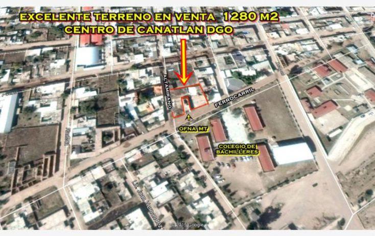 Foto de terreno habitacional en venta en sn, canatlán de las manzanas centro, canatlán, durango, 1601836 no 05