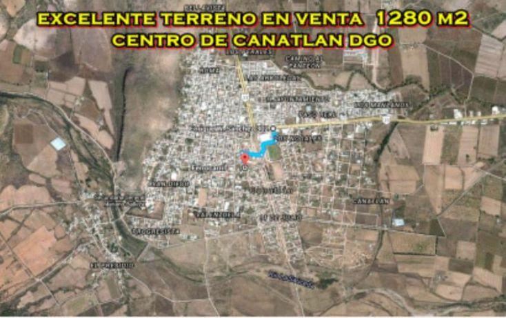 Foto de terreno habitacional en venta en sn, canatlán de las manzanas centro, canatlán, durango, 1601836 no 11