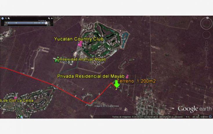 Foto de terreno habitacional en venta en sn, chablekal, mérida, yucatán, 1469721 no 02