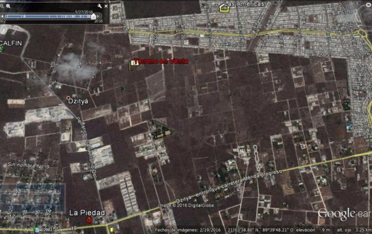 Foto de terreno habitacional en venta en sn, chablekal, mérida, yucatán, 1930949 no 01