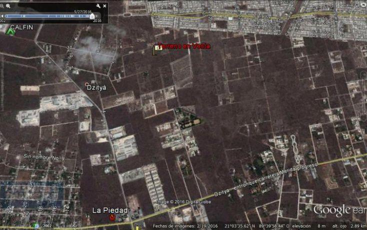 Foto de terreno habitacional en venta en sn, chablekal, mérida, yucatán, 1930949 no 08