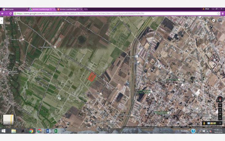 Foto de terreno habitacional en venta en sn, cuautlancingo, cuautlancingo, puebla, 1727436 no 08