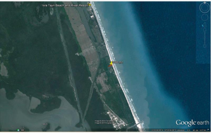 Foto de terreno habitacional en venta en sn, el paraíso, tuxpan, veracruz, 584005 no 03