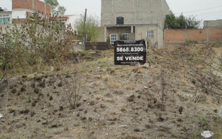 Foto de terreno habitacional en venta en sn fermin 91, san francisco tepojaco, cuautitlán izcalli, estado de méxico, 1898342 no 01