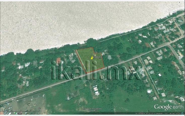 Foto de terreno habitacional en renta en sn, la victoria, tuxpan, veracruz, 582304 no 04