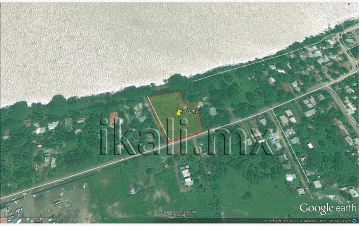 Foto de terreno habitacional en venta en s/n nonumber, cobos, tuxpan, veracruz de ignacio de la llave, 582308 No. 04