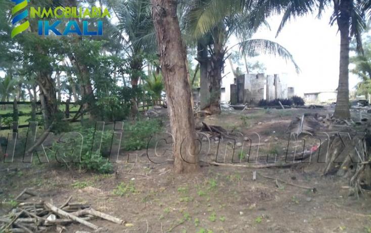 Foto de terreno habitacional en venta en sn, playa azul, tuxpan, veracruz, 616317 no 05