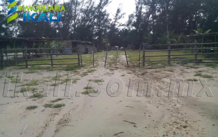 Foto de terreno habitacional en venta en sn, playa azul, tuxpan, veracruz, 616317 no 07
