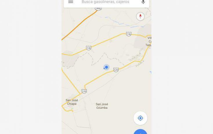 Foto de terreno habitacional en venta en sn, san josé de chiapa, san josé chiapa, puebla, 1726172 no 11