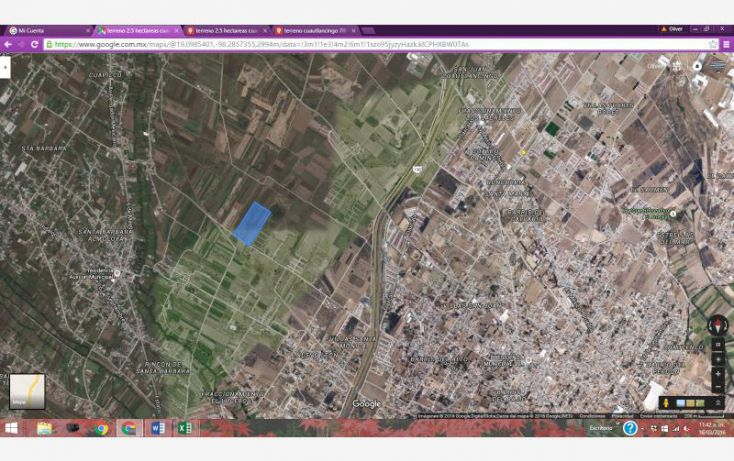 Foto de terreno habitacional en venta en sn, san juan cuautlancingo centro, cuautlancingo, puebla, 1727476 no 08