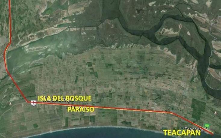 Foto de terreno habitacional en venta en  s-n, teacapan, escuinapa, sinaloa, 1372865 No. 03