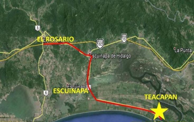 Foto de terreno habitacional en venta en  s-n, teacapan, escuinapa, sinaloa, 1372865 No. 06
