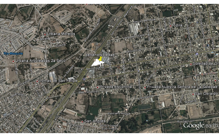 Foto de terreno habitacional en venta en  , soledad de graciano sanchez centro, soledad de graciano s?nchez, san luis potos?, 1116231 No. 01