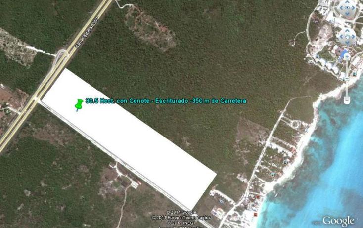 Foto de terreno habitacional en venta en  , solidaridad, othón p. blanco, quintana roo, 1113527 No. 03