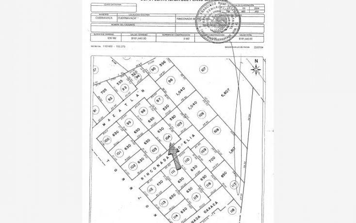 Foto de terreno habitacional en venta en sonora 90, vista hermosa, cuernavaca, morelos, 1741172 no 17