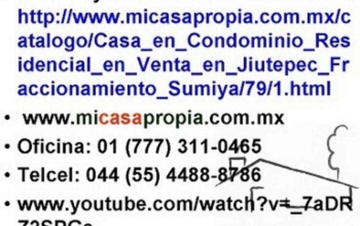 Foto de casa en condominio en venta en, sumiya, jiutepec, morelos, 1076503 no 03